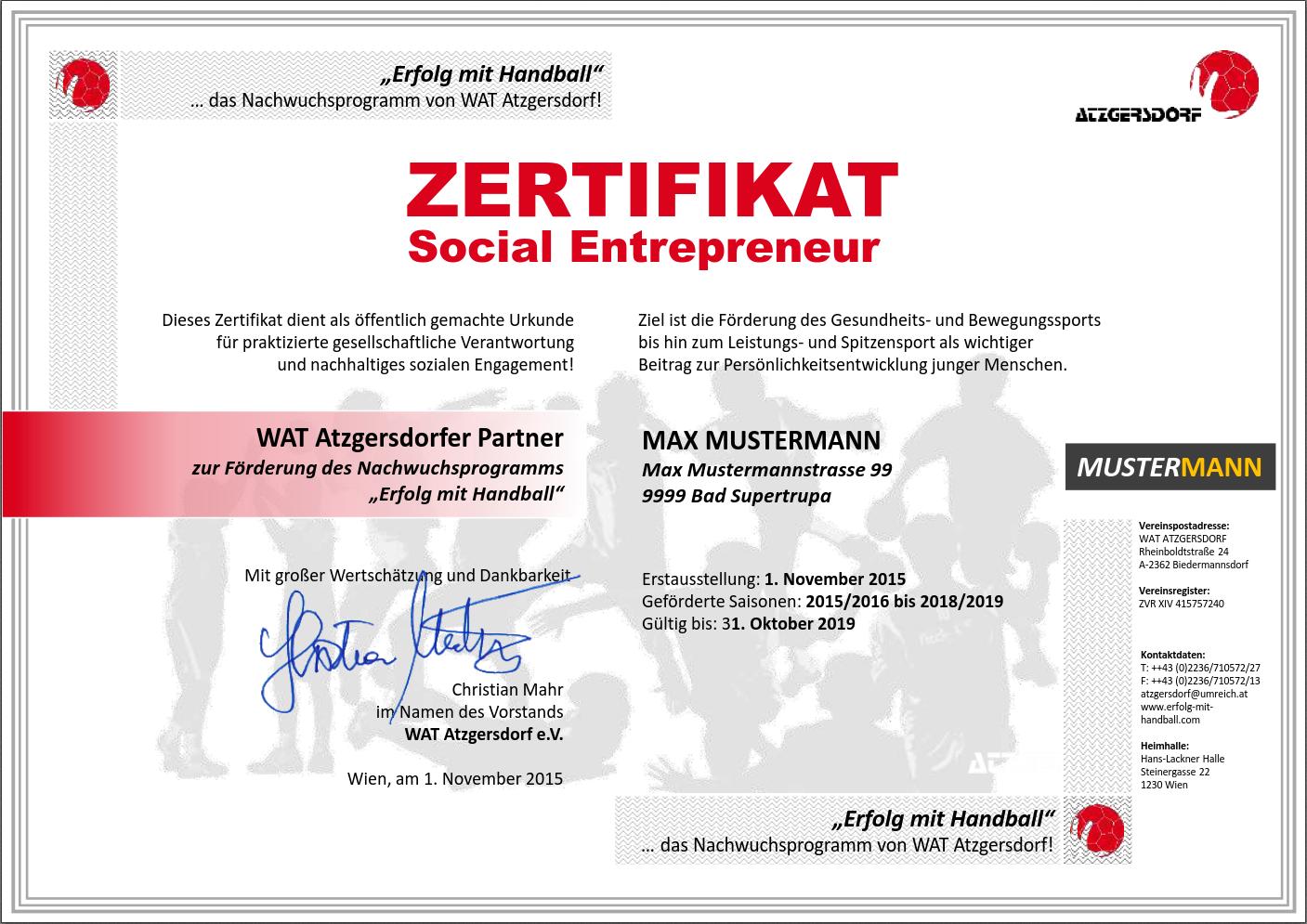 Wunderbar Partizipations Zertifikat Vorlage Galerie - Bilder für das ...